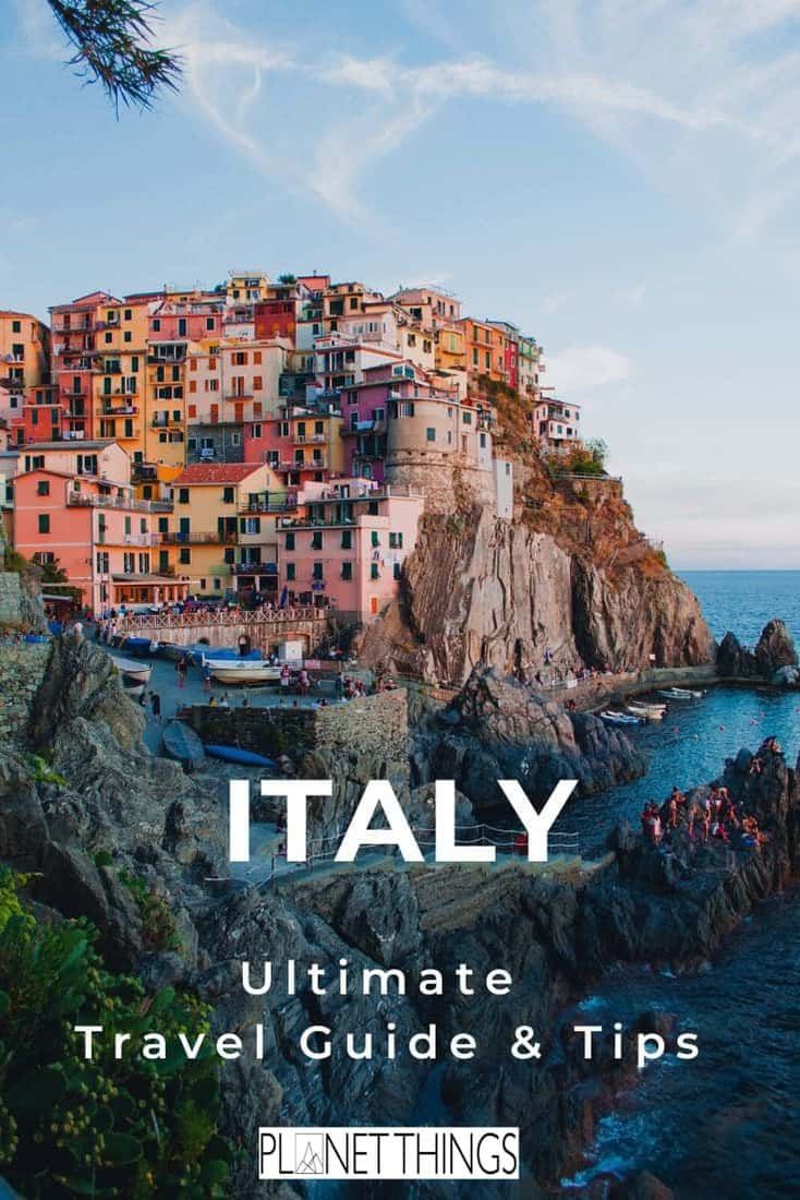 Italy is a spectacular country, well-known for its rich culture and natural beauty. Stunning architecture, incredible food, art and original style are just a few of the treasures that you will see and experience on a trip to Italy. If you've been thinking of visiting this beautiful country, these Italy travel tips will come in handy #italy #howtoplanatriptoItaly #italytraveltips #blogging #travelblog #italyblog #italytravelguide #travelguide