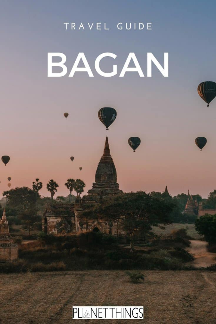 The Old Bagan City is also known as 'the sea of temples'. If you're planning a trip to Myanmar, make sure you slot the temples of Bagan into your itinerary #bagan #bagantemples #baganmyanmar #travel #travelasia #travelblog