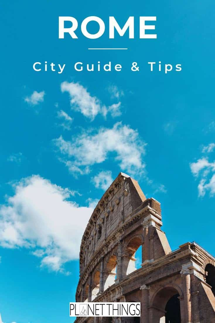 Rome offers so many remarkable sights, attractions and activities. Use this Rome city guide to plan an unforgettable trip. #rome #travelguide #rometravel #italytravel #romebest #travelblog #romeguide